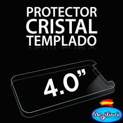 Protector Pantalla Cristal Templado Universal Móviles de 4 Pulgadas