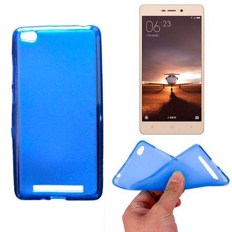Funda de TPU Mate Lisa para Xiaomi Redmi 3 Silicona Azul