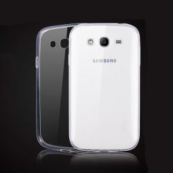 Funda TPU Transparente Samsung Galaxy Grand Neo Plus Silicona Ultra Thin Fina 0.3 mm