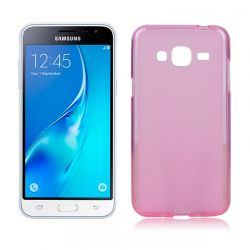 Funda de TPU Mate Lisa para Samsung Galaxy J3 / J3 2016 Silicona Rosa