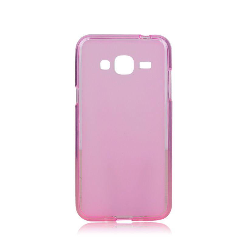 54667ef6154 Funda de TPU Mate Lisa para Samsung Galaxy J3 / J3 2016 Silicona Rosa