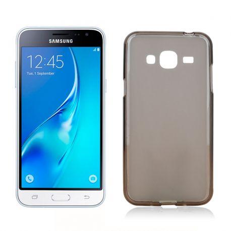 Funda de TPU Mate Lisa para Samsung Galaxy J3 / J3 2016 Silicona Negro