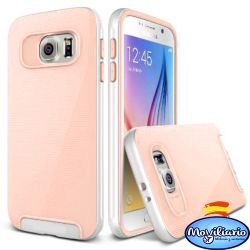 Funda tipo Crucial Bumper Salmon para Samsung Galaxy S6