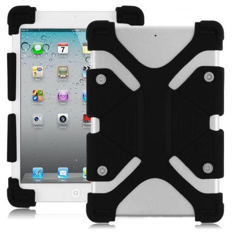 Funda Universal Silicona y Soporte para Tablet de 7 y 8 Pulgadas Negro