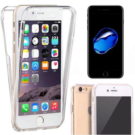 Funda TPU Doble Frontal Trasera 360 Ultra Thin Fina Iphone 7 Plus 5,5
