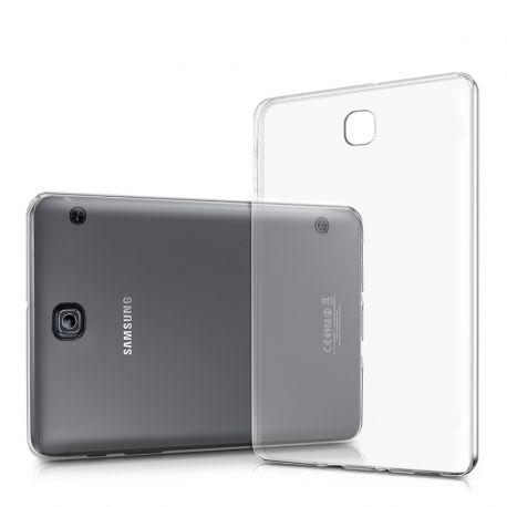 Funda de Silicona Ultra Fina Transparente Samsung Galaxy Tab A 9,7 T550