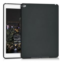Funda TPU para iPad Air 2 / iPad 6 Silicona flexible Negro Mate