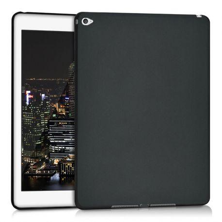 Funda TPU para iPad Air 2 / iPad 6 Silicona flexible Negro Mate