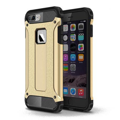Funda tipo Tough Armor Tech todo terreno para iPhone 7 Plus Oro