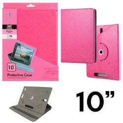Funda con tapa Universal para Tablet 10 pulgadas Rosa