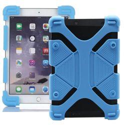Funda Universal Silicona Soporte para Tablet de 9 a 12 Pulgadas Azul
