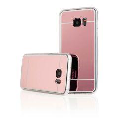 Funda Mirror Gel TPU efecto Espejo Samsung Galaxy S7 Edge Oro Rosa