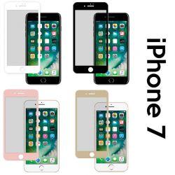 Protector de pantalla de Cristal Templado Curvado Completo iPhone 7