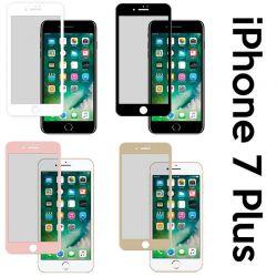 Protector pantalla de Cristal Templado Curvado Completo iPhone 7 Plus