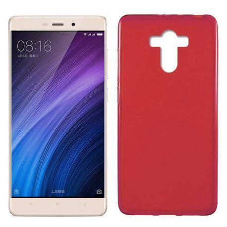 Funda de TPU Mate Lisa para Xiaomi Redmi 4 / 4 Prime Silicona Rojo