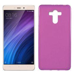 Funda de TPU Mate Lisa para Xiaomi Redmi 4 / 4 Prime Silicona Rosa