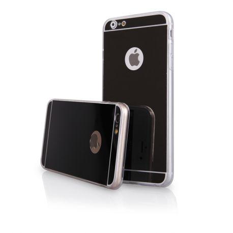 Funda Mirror Gel TPU efecto Espejo iPhone 6 Plus / 6S Plus Negro