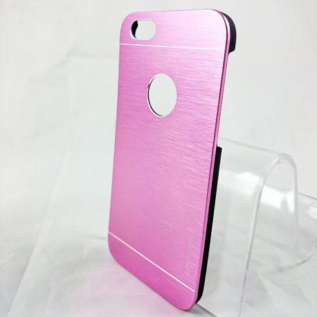 Carcasa Trasera de Aluminio Motomo para iPhone 6 y 6S Rosa