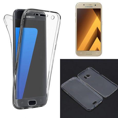 Funda TPU Doble Frontal Trasera 360 Ultra Thin Samsung Galaxy A3 2017