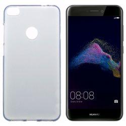 Funda TPU Mate Huawei P8 Lite 2017 Silicona Blanco Semi Transparente