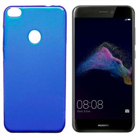 Funda de TPU Mate Lisa para Huawei P8 Lite 2017 Silicona Azul
