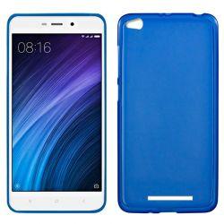 Funda de TPU Mate Lisa para Xiaomi Redmi 4A Silicona Flexible Azul