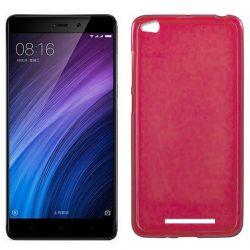 Funda de TPU Mate Lisa para Xiaomi Redmi 4A Silicona Flexible Rojo