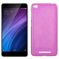 Funda de TPU Mate Lisa para Xiaomi Redmi 4A Silicona Flexible Rosa