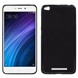 Funda de TPU Mate Lisa para Xiaomi Redmi 4A Silicona Flexible Negro
