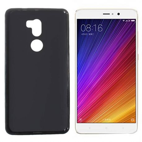 Funda de TPU Mate Lisa para Xiaomi Mi 5S Plus Silicona Flexible Negro