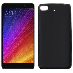 Funda de TPU Mate Lisa para Xiaomi Mi 5S Silicona Flexible Negro