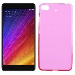 Funda de TPU Mate Lisa para Xiaomi Mi 5S Silicona Flexible Rosa
