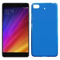 Funda de silicona semitransparente para Xiaomi Mi 5S Azul
