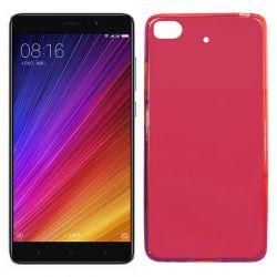 Funda de TPU Mate Lisa para Xiaomi Mi 5S Silicona Flexible Rojo