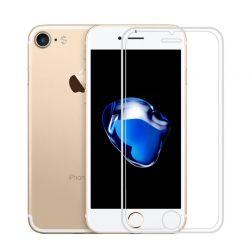 Protector pantalla cristal templado 3D Borde de Silicona iPhone 7