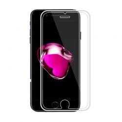 Protector pantalla cristal templado 3D Borde de Silicona iPhone 7 Plus