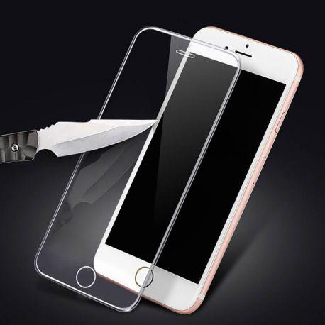 Protector pantalla cristal templado 3D Borde de Silicona iPhone 6