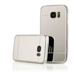 Funda Mirror Gel TPU efecto Espejo Samsung Galaxy S7 Plata