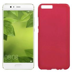 Funda TPU Mate Lisa para Huawei 10 Plus Silicona Flexible Rojo