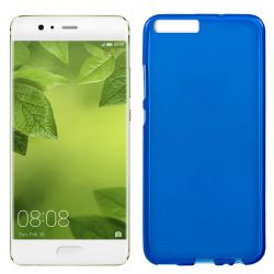 Funda TPU Mate Lisa para Huawei 10 Plus Silicona Flexible Azul