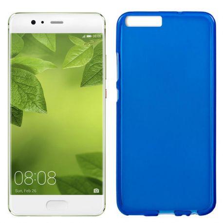 Funda TPU Mate Lisa para Huawei 10 Plus Silicona Flexible Azul