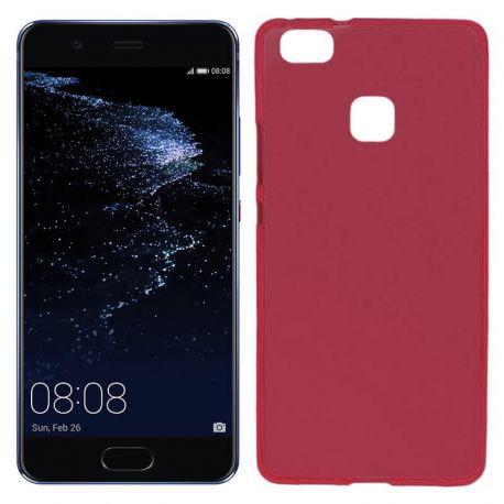 Funda TPU Mate Lisa para Huawei P10 Lite Silicona Flexible Rojo
