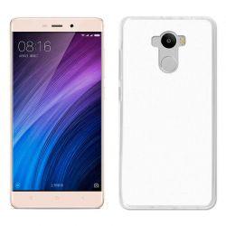 Funda de TPU Mate Lisa para Xiaomi Redmi 4 / 4 Prime Semi Transparente