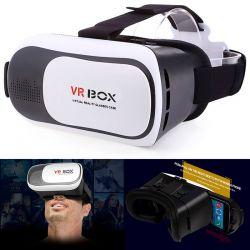 """Gafas Realidad Virtual 3D VR Box móviles Android Iphone 4,5"""" a 6,0"""""""