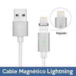 Cable de Carga y Datos Lightning con LED iPhone 5 / SE/ 6 / 7 / 7 Plus