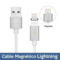 Cable de Carga y Datos Lightning con LED iPhone 5, SE, 6, 7, 7 Plus