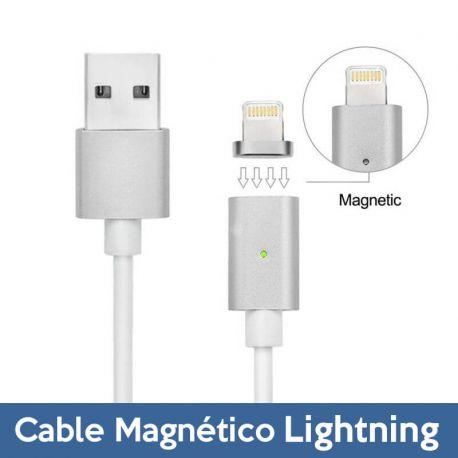 Cable de Carga y Datos Lightning con LED iPhone 5 / SE/ 6 / 7 / 7 Plus
