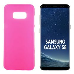 Funda TPU Mate Lisa para Samsung Galaxy S8 Silicona Flexible Rosa