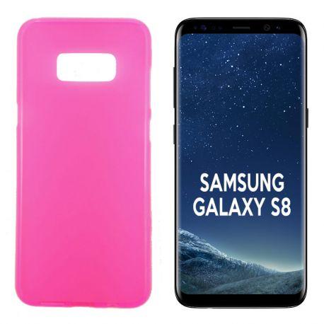 Funda TPU Mate Lisa para Samsung Galaxy S8 Silicona Flexible Rosa