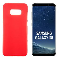 Funda TPU Mate Lisa para Samsung Galaxy S8 Silicona Flexible Rojo
